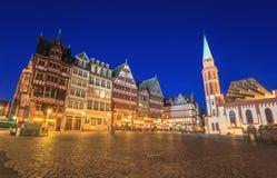 Frankfurt Frankfurt Arkivfoton
