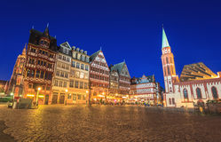 Frankfurt, Frankfurt. Roemer the old town of Frankfurt, Germany stock photos
