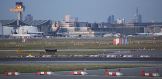 Frankfurt fraport airport germany Stock Photo