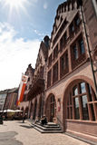 Frankfurt główny plac Obrazy Royalty Free