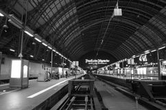 Frankfurt - Am - główny Hauptbahnhof Zdjęcia Stock