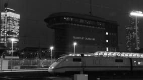 Frankfurt - Am - główny Hauptbahnhof Fotografia Royalty Free