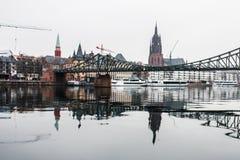 frankfurt German Obrazy Royalty Free