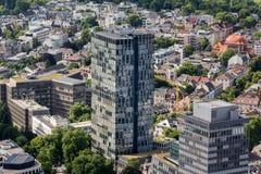 Frankfurt germany from above. Frankfurt germany cityscape from above Stock Photography