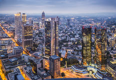 Frankfurt Germany Cityscape Royalty Free Stock Photos