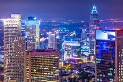 Frankfurt Germany Cityscape Stock Images