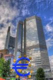 FRANKFURT, GERMANY - JUL 12: European Central Bank in Frankfurt Stock Image