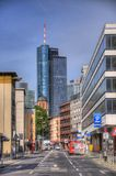 FRANKFURT, GERMANY - JUL 12: Maintower Skyscraper Royalty Free Stock Photos