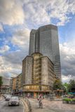FRANKFURT, GERMANY - JUL 12: Mercedes Benz Building Royalty Free Stock Image