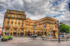 FRANKFURT, GERMANY - JUL 12: Steigenberger Frankfurter Hof Stock Images
