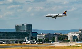 FRANKFURT,GERMANY: JUNE 23, 2017: Airbus A319 LUFTHANSA. Royalty Free Stock Images