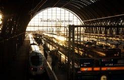 Frankfurt, Germany main train station Stock Photography