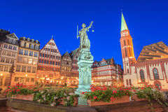Romer - Frankfurt - Germany. Romer the old town of Frankfurt, Germany Royalty Free Stock Photos
