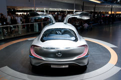 FRANKFURT, GERMANY - SEP 25: Mercedes Benz F125 Stock Photography