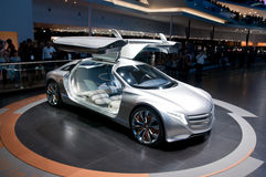 FRANKFURT, GERMANY - SEP 25: Mercedes Benz F125 Stock Images