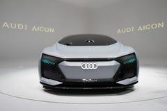 Audi Aicon concept car Royalty Free Stock Photos