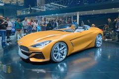 BMW Z4 Concept sports car at IAA royalty free stock images