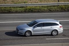 Ford Mondeo Turnier on the road Royalty Free Stock Image