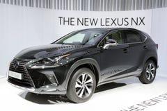 New 2018 Lexus NX 300h car Stock Photos