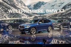 2018 BMW X3 suv car Royalty Free Stock Photo
