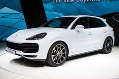 Porsche Cayenne SUV car Stock Photos
