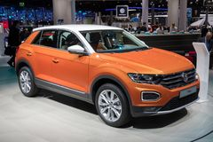 2018 Volkswagen T-Roc SUV car Royalty Free Stock Images