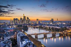 Frankfurt Germany Royalty Free Stock Photography
