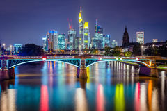Frankfurt Germany Skyline Royalty Free Stock Photography