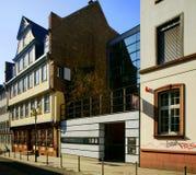 Frankfurt Goethe House Royalty Free Stock Images