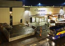 Frankfurt-Hahn flygplats i Tyskland Royaltyfri Bild