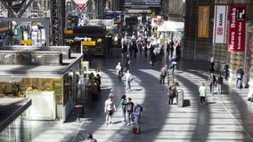 Frankfurt Hauptbahnhof stock video