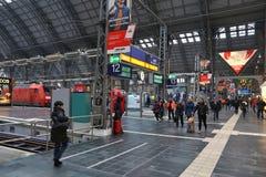 Frankfurt Hauptbahnhof Royalty Free Stock Images