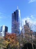 Frankfurt - Helaba torn Royaltyfri Bild