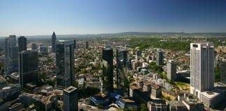 Frankfurt Highrise Buildings Stock Photos