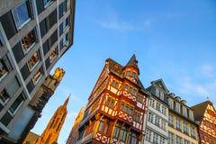Frankfurt historyczny Centrum obrazy stock