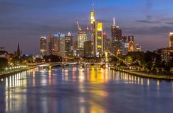 Frankfurt horisont Royaltyfri Bild