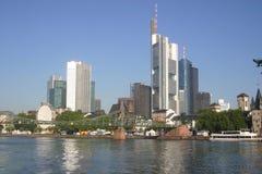 frankfurt horisont Royaltyfria Bilder