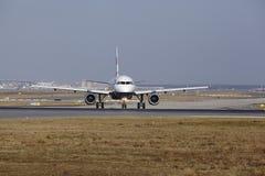 Frankfurt International Airport – British Airways Airbus A319 takes off Stock Photos