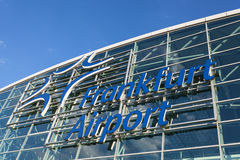 Frankfurt International Airport, Germany Stock Photo