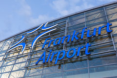 Frankfurt International Airport Logo Royalty Free Stock Images