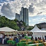 Frankfurt jedzenia fest Zdjęcie Royalty Free