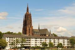 Frankfurt katedra - Kaiserdom zdjęcia royalty free