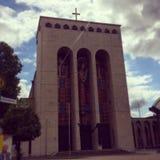 Frankfurt kościół Fotografia Royalty Free