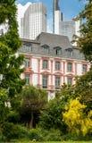 Frankfurt-Kontraste Lizenzfreies Stockbild