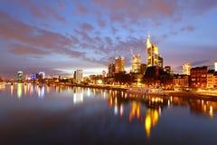 Frankfurt am kopalnia Zdjęcie Royalty Free