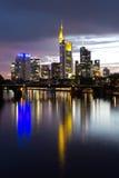 Frankfurt Linia horyzontu Obraz Stock