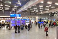 Frankfurt lotnisko międzynarodowe Zdjęcie Stock