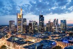 Frankfurt - Am - magistrala zdjęcia royalty free