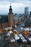 frankfurt magistrala Obraz Royalty Free