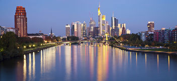 Frankfurt - Am - magistrala. Zdjęcia Royalty Free